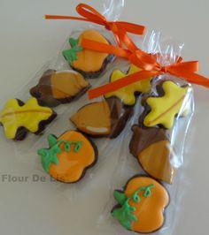 Fall Mini Cookies, by Flour De Lis