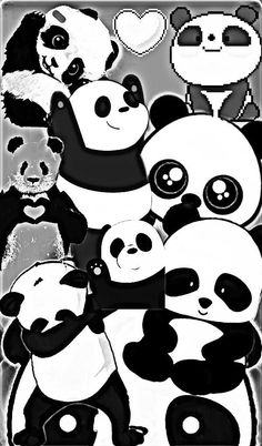 image by Discover all images by Find more awesome freetoedit images on PicsArt. Panda Wallpaper Iphone, Cute Panda Wallpaper, Bear Wallpaper, Disney Wallpaper, We Bare Bears Wallpapers, Panda Wallpapers, Cute Cartoon Wallpapers, Niedlicher Panda, Panda Love