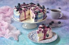 jogurtowy sernik na zimno Bread Cake, Cheesecakes, Blog, Polish, Recipes, Vitreous Enamel, Cheesecake, Blogging