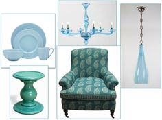 Color Wheel Week: BLUE! | AtTuned To Style