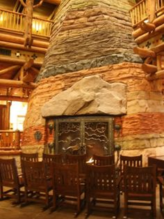 Walt Disney World's Wilderness Lodge - Lobby