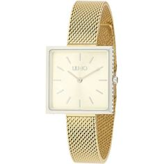 OROLOGIO DA DONNA LIU-JO - € 119 Leggi tutte le caratteristiche... Square, Liu Jo, Glamour, Gold Watch, Watches, Accessories, Products, Fashion, Women Models