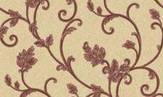 Tapet vinil crem visiniu floral 7908 Cristina Masi Lei Abstract, Interior, Floral, Collection, Design, Home Decor, Christians, Summary, Decoration Home