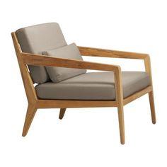 Club Teak Lounge Chair Outdoor Teak Chair Patio Chairs