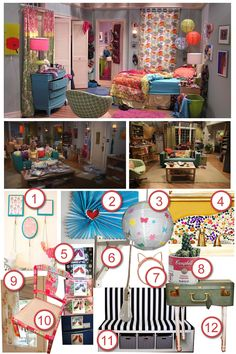 Katie recreates the quirky and colourful room of Penny from the TV show, The Big Bang Theory.
