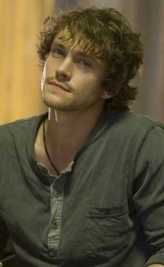 Hugh Dancy, the exact age I picture him at for the character David in my novel.