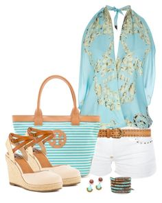 Tory Burch Bag by maggie-jackson-carvalho on Polyvore featuring polyvore fashion style Philipp Plein BC Footwear Tory Burch Chan Luu DANNIJO Dorothy Perkins clothing