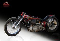1941 Indian flathead racer