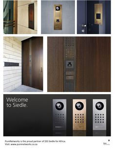 siedle usa video intercom systems classic series. Black Bedroom Furniture Sets. Home Design Ideas