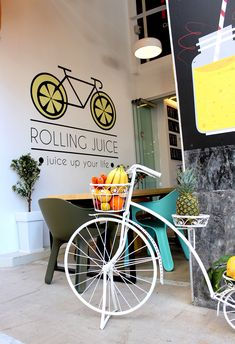 Rolling Juice - Facade Facade Architecture, Juice, Rolls, Projects, Log Projects, Blue Prints, Bread Rolls, Juices, Juicing