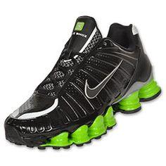 b0812dc8a69 Nike Shox TLX Black Action Green Nike Shox