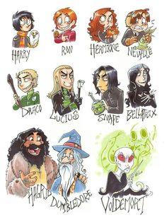 Fan art characters