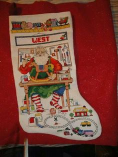 Christmas Stocking for West