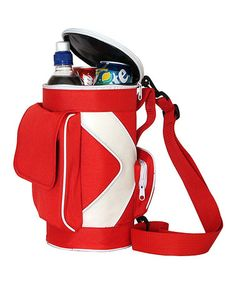 Look what I found on #zulily! Red Golf Bag Cooler by Supreme Housewares #zulilyfinds