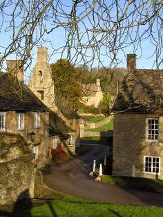 The village of Cornwell - Oxfordshire, England