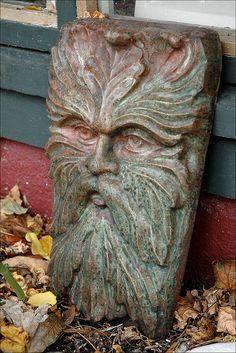Green Man, via Flickr.