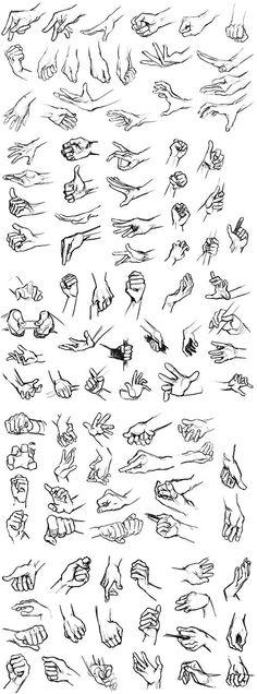 100 Hands by JujiBla on DeviantArt