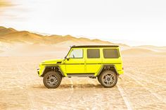 Mercedes Benz G500 4x4 Squared side