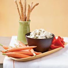 Creamy Artichoke Dip < 100 calories   MyRecipes.com