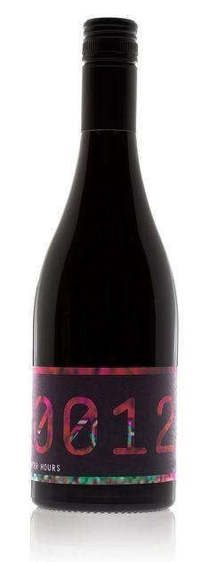 Wine label designed by Pidgeon for Baptism of Fire. #taninotanino #vinosmaximum