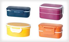 Groupon - $18 for One Set of Two Bento Boxes ($32 List Price). Multiple Options Available. Free Shipping and Free Returns. in Online Deal. Groupon deal price: $18.0.00