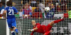 Pirlo's penalty, quarter finals Euro 2012