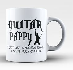 I'm a Guitar Pappy Except Much Cooler - Mug