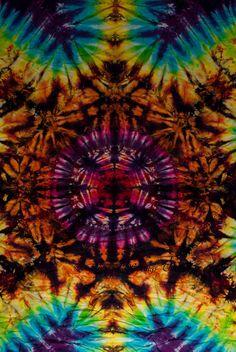 ➳➳➳☮American Hippie Art - Mandala .. Tie Dye