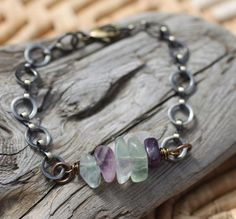 This bracelet is inspired by my Five Deep Breaths practice, which invites you to pause and take five deep breaths with intention.