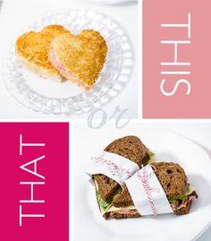 valentine sandwiches by boutique bites