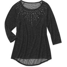 Women's Studded Top Love this with Jeans and heels with a pop of color in the accessories!
