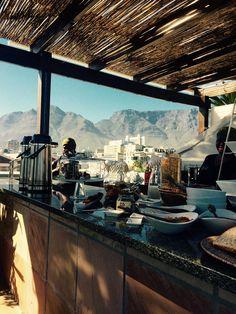 Molo Lolo Lodge Kapstadt Breakfast Rooftop