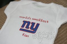 A https://www.facebook.com/GogelAuto RePin - worlds smallest NY Giants fan onesie Please stop by and like us on FB! Gogel Auto Sales, Rt10, East Hanover. https://www.facebook.com/GogelAuto