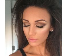 A classic smokey eye like Michelle Keegan's works for any party or event!