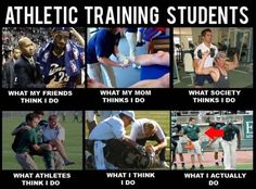 Athletic Training Students - What they think you do!  LOL ♥ Are you earning enough on the job?  With the knowledge you have, earn $1,650 a day online using this simple system:   https://successrx.leadpages.net/pt-fitness/  #student #athletic #trainer