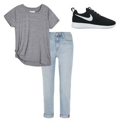 """""""Casual Cooley.."""" by danielle09-1 on Polyvore featuring Madewell and NIKE"""