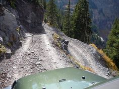 Black Bear Pass Switchbacks down into Telluride