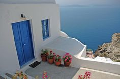 Santorini...one day, this will be the entrance to my home. And you all are welcome to come and visit me. (Photo - BBlock)