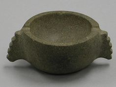 Stone Bowl with Handles | Mexican | The Met