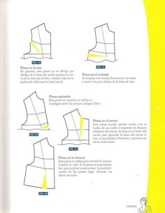 217092033-Diseno-de-moda-Patronaje-Las-bases-Caratula-a-Pg-25.pdf Laura Lee, Couture Sewing Techniques, Diy Tops, Modelista, Blouse And Skirt, Pattern Drafting, Pattern Books, Diy Clothes, Sewing Patterns