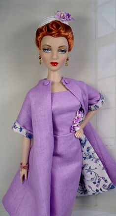 Lady Orchid for Gene Marshall and her friends 16 inch fashion dolls OOAK Fashion