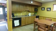 Manitowish Waters - Reading room kitchenette.