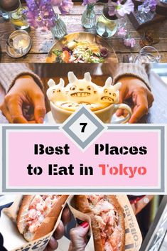 7 Best Places to Eat in Tokyo Tokyo is the world's most exciting dining destinations. If you are looking for where to eat, here are the 7 best places to eat in Tokyo! Osaka, Nagoya, Eat Tokyo, Tokyo Food, Tokyo Japan, Japan Trip, Tokyo Trip, Shinjuku Tokyo, Kyoto Japan