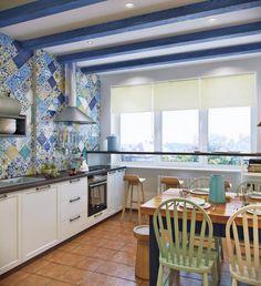 Кухни в средиземноморском стиле – фото с идеями для вдохновения