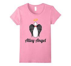 Alley Angel Bowling T Shirt #bowling #sports #Tshirt  https://www.amazon.com/dp/B071PFC4VY