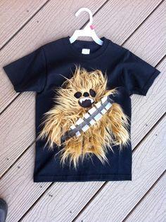 chewbacca style monster tshirt