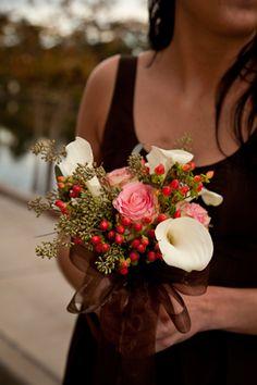 Bridesmaid's Bouquet by Pink House Florist, Savannah, GA