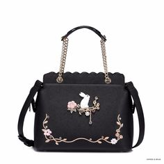 Just listed our new Lolita - Floral W... with great discount! Check it out here. http://sophieandbear.com/products/lolita-floral-white-rabbit-bag?utm_campaign=social_autopilot&utm_source=pin&utm_medium=pin