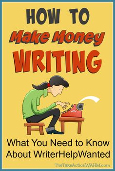 Find out how WriterHelpWanted can help you start making money online with your writing!