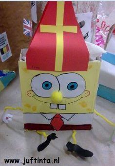 Surprise Spongebob knutselen